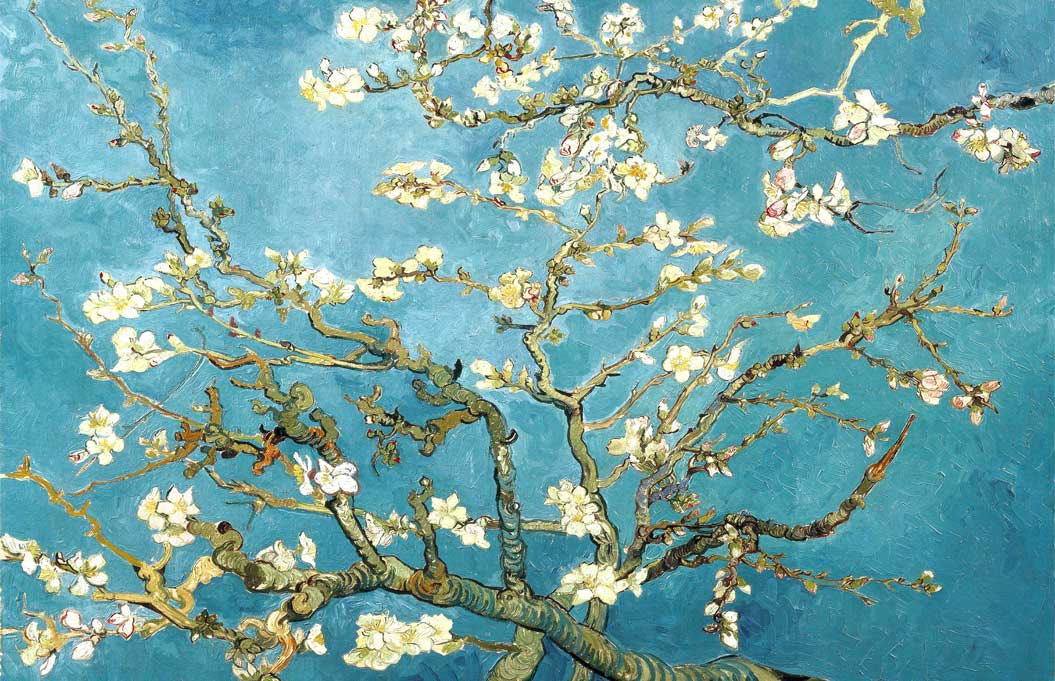 Almond Blossom by Vincent Van Gogh Abstract Poster Wall ...